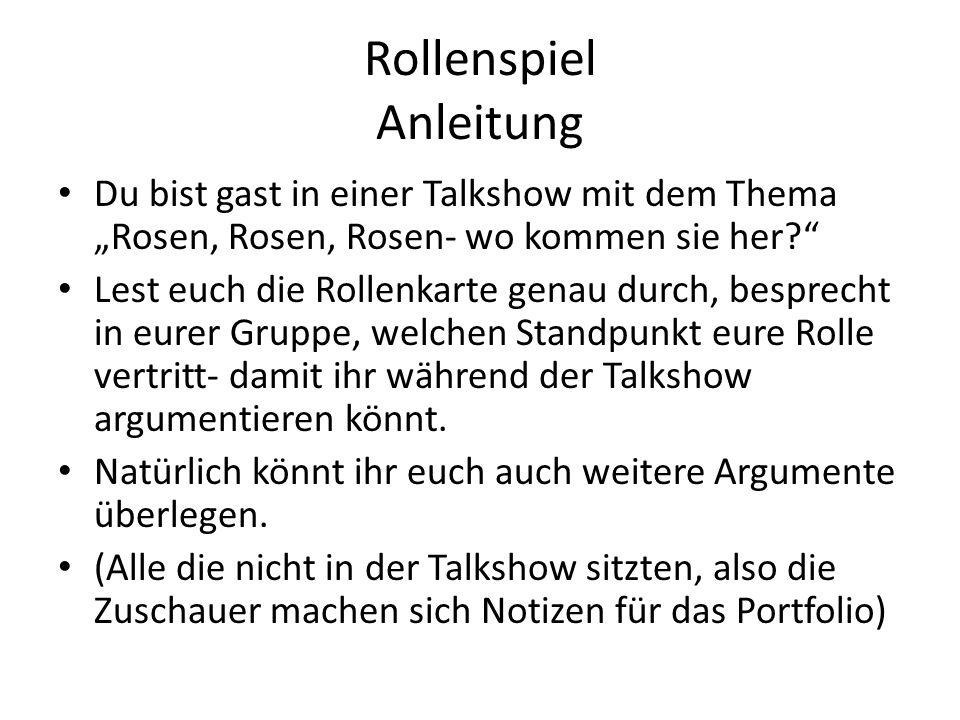 Rolle 1 Konsument/in Du bist Henriette Müller, 43 Jahr alt und von Beruf Sekretärin und hast ein durchschnittiches Einkommen.