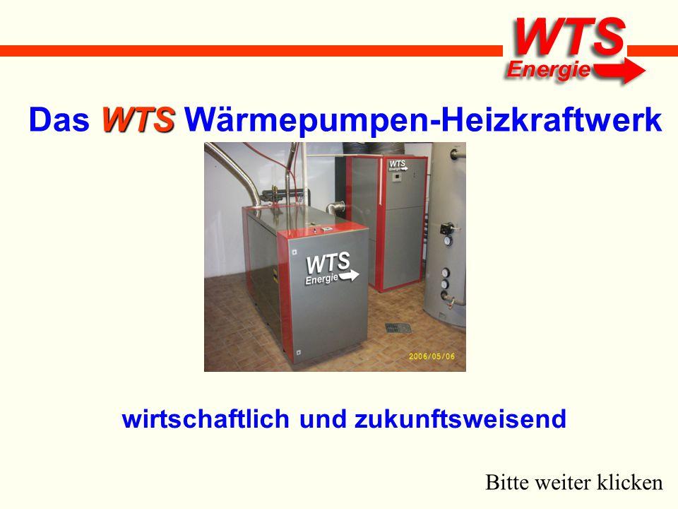 WTS Das WTS Wärmepumpen-Heizkraftwerk wirtschaftlich und zukunftsweisend Bitte weiter klicken