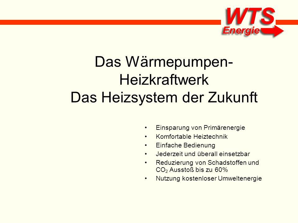 Das Wärmepumpen- Heizkraftwerk Das Heizsystem der Zukunft Einsparung von Primärenergie Komfortable Heiztechnik Einfache Bedienung Jederzeit und überal