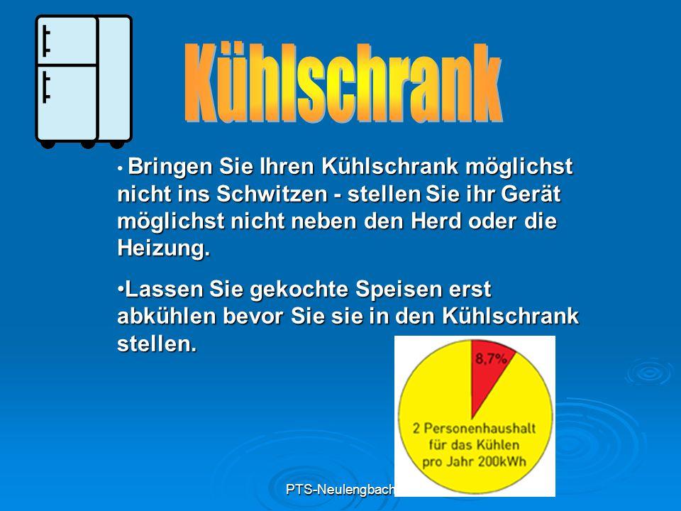 PTS-Neulengbach Lassen Sie in regelmäßigen Abständen Ihre Heizungsanlage warten.