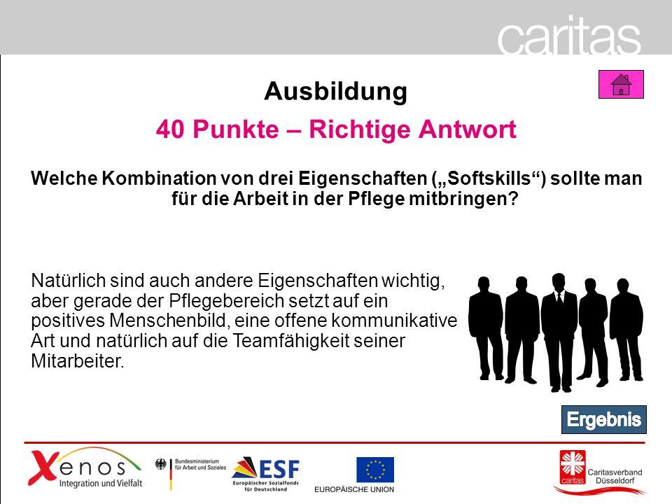 Page 60 50 Punkte a) Verbraucherzentrale b) Mieterschutzbund c) Caritasverband Düsseldorf e.V.