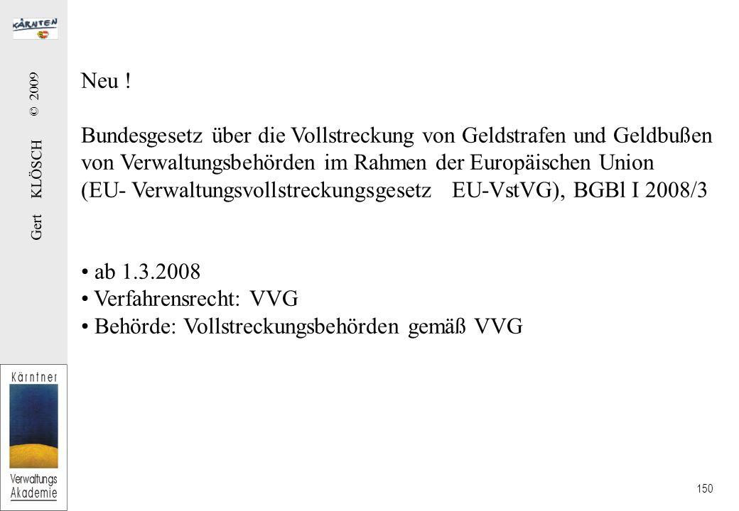 Gert KLÖSCH © 2009 150 Neu .