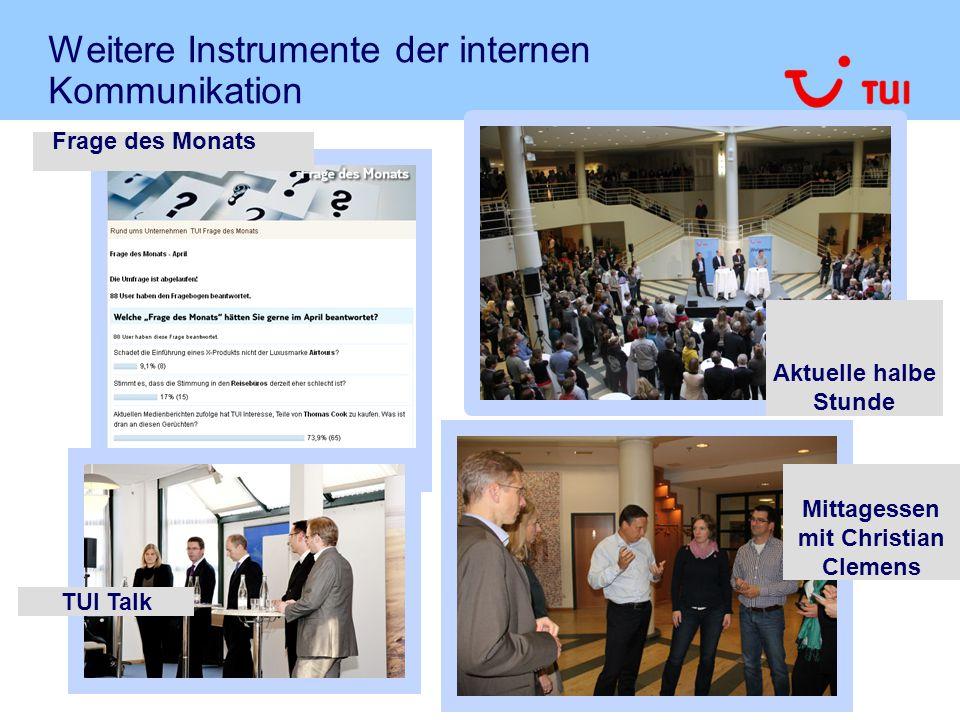 Weitere Instrumente der internen Kommunikation INFO.garage Interaktives Big Picture mit Projekten