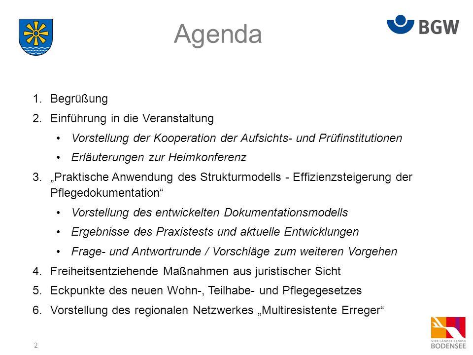 3 Rückmeldungen Frage- und Antwortrunde Pflegedokumentation  ….