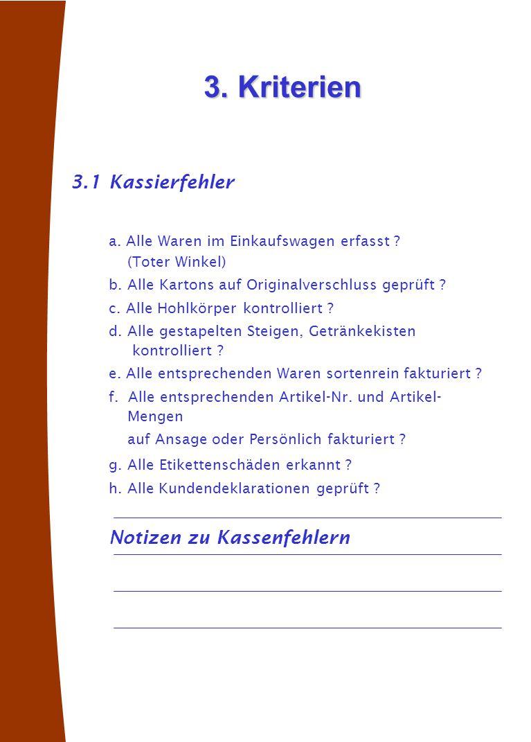 3.2Organisationsfehler i.EAN nicht geladen . j. Artikel bleibt zurück .