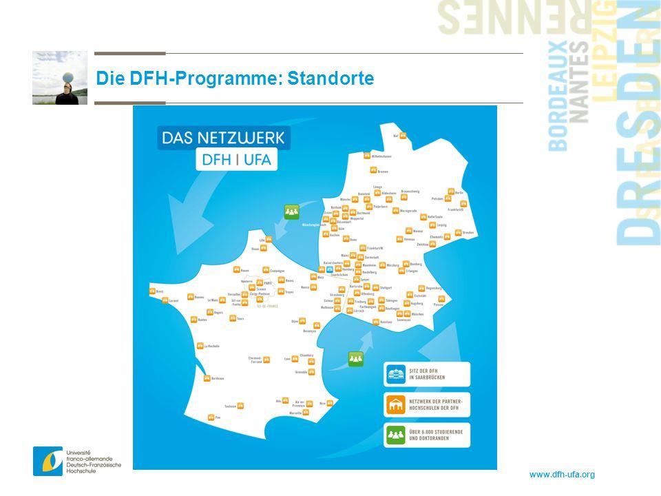 www.dfh-ufa.org Die DFH-Programme: Standorte