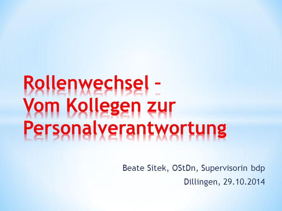 Beate Sitek, OStDn, Supervisorin bdp Dillingen, 29.10.2014