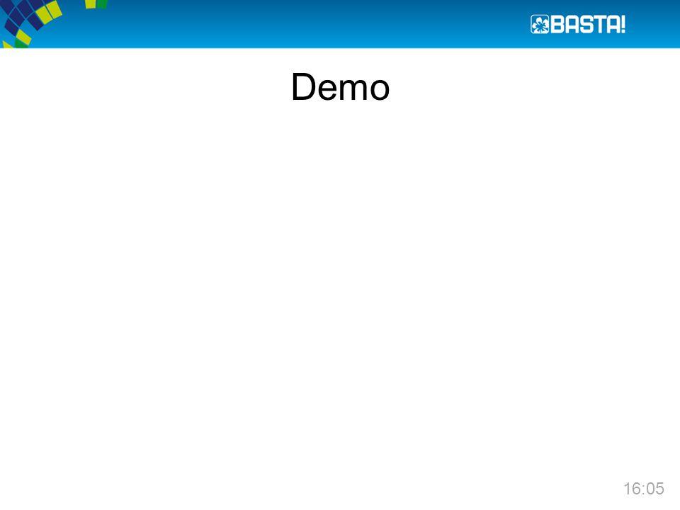 Demo 16:05