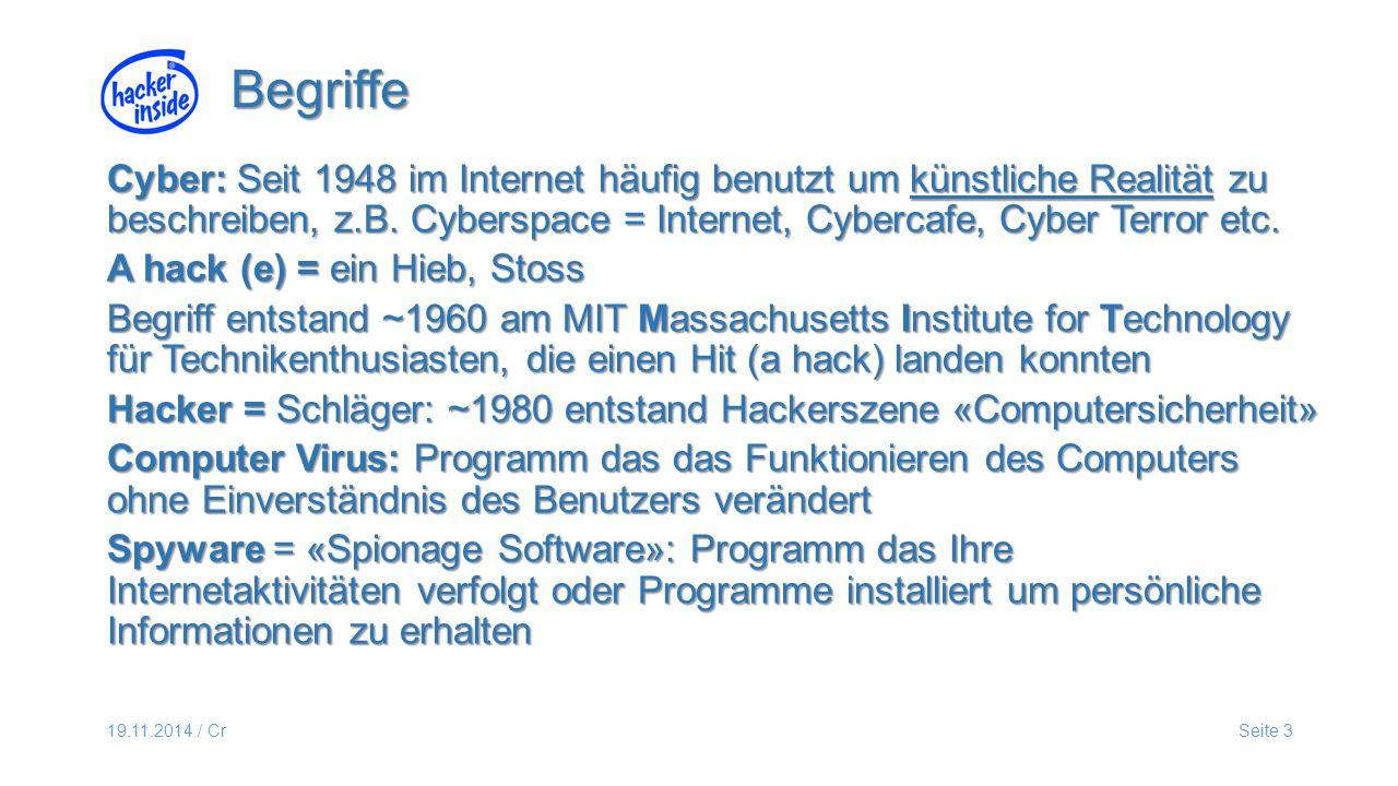 19.11.2014 / CrSeite 14 FP «reinigen» mit Gratisprogramm z.B.