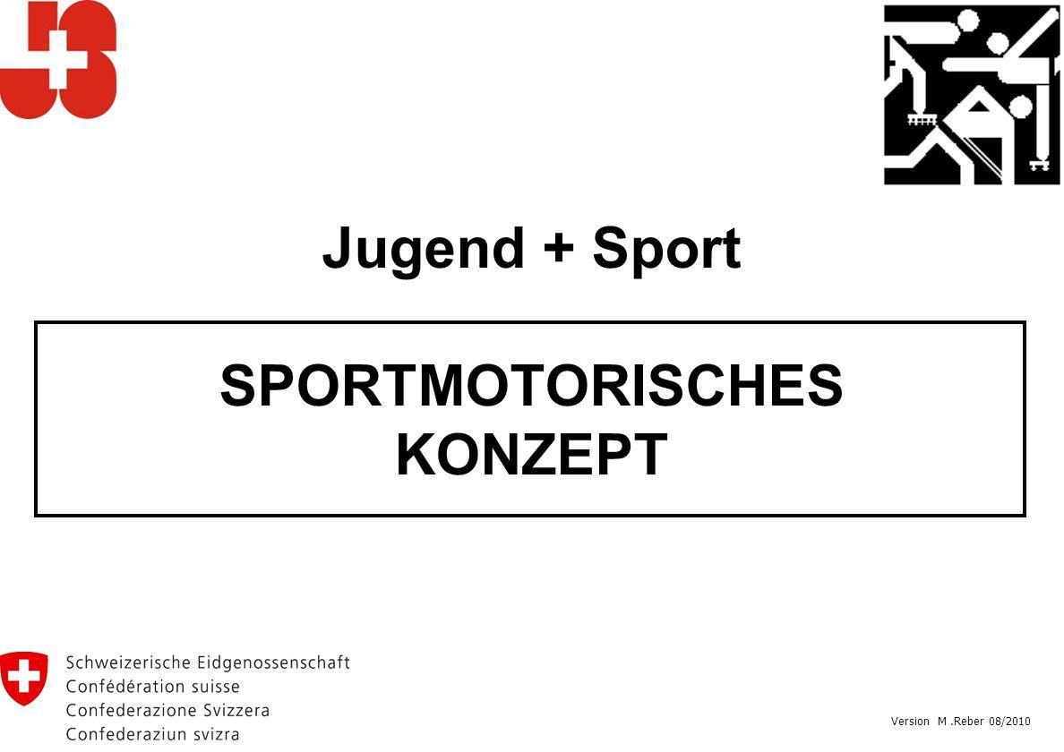 Jugend + Sport SPORTMOTORISCHES KONZEPT Version M.Reber 08/2010