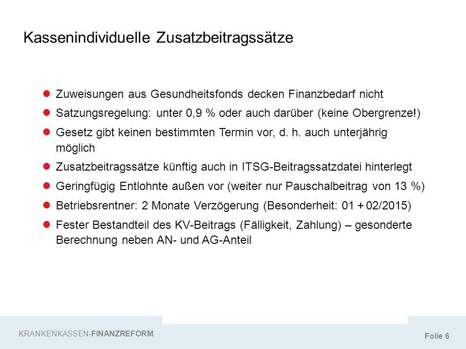 """Folie 57 Das bisherige Elterngeld … """"KURZ NOTIERT – ELTERNGELD PLUS … ist Einkommensersatz für max."""