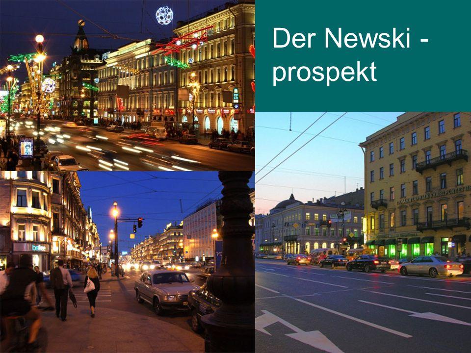 Der Newski - prospekt
