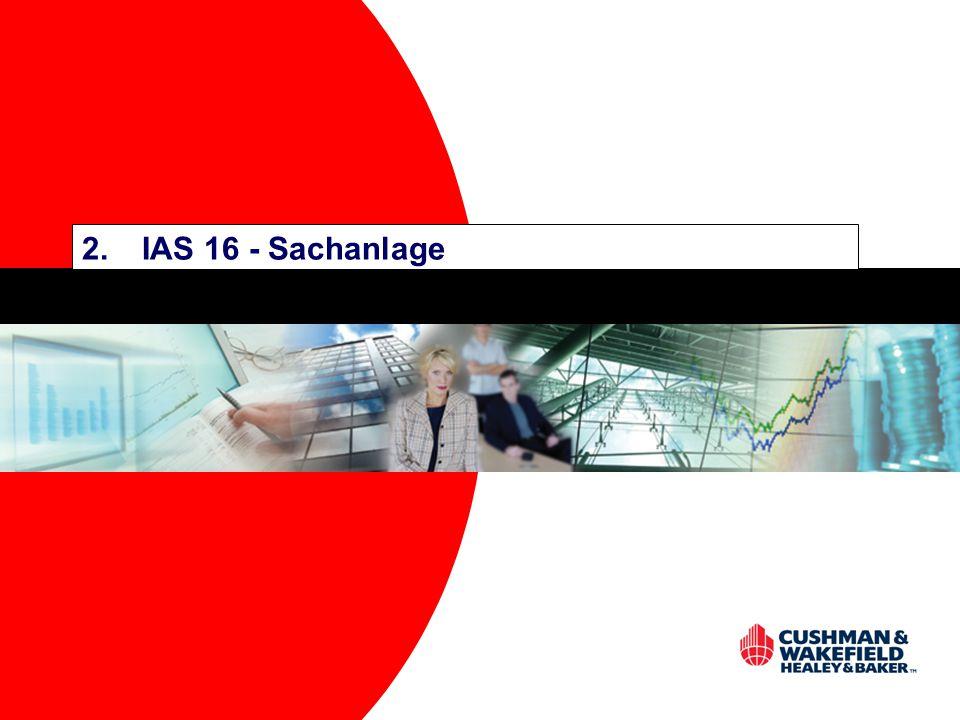 2.IAS 16 - Sachanlage