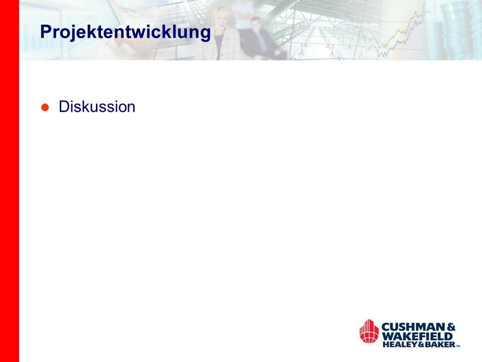 Projektentwicklung Diskussion