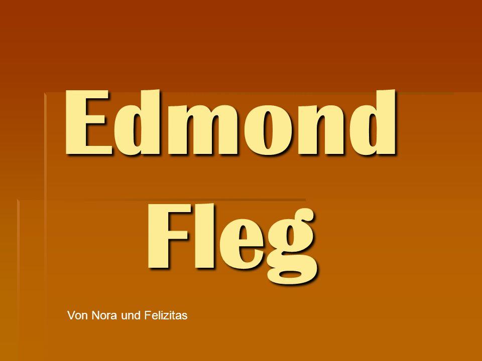 Edmond Fleg Von Nora und Felizitas