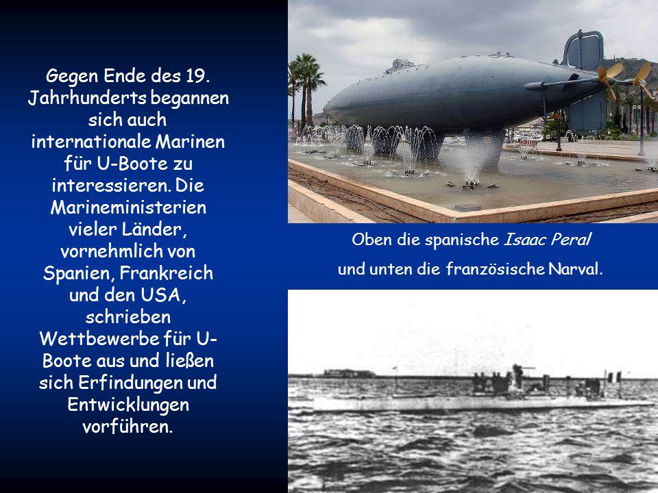 Am 2. Oktober 1864 wurde von Narcís Monturiol mit der Ictíneo II das erste U-Boot mit einem maschinellen Antrieb zu Wasser gelassen. Das Boot bestand