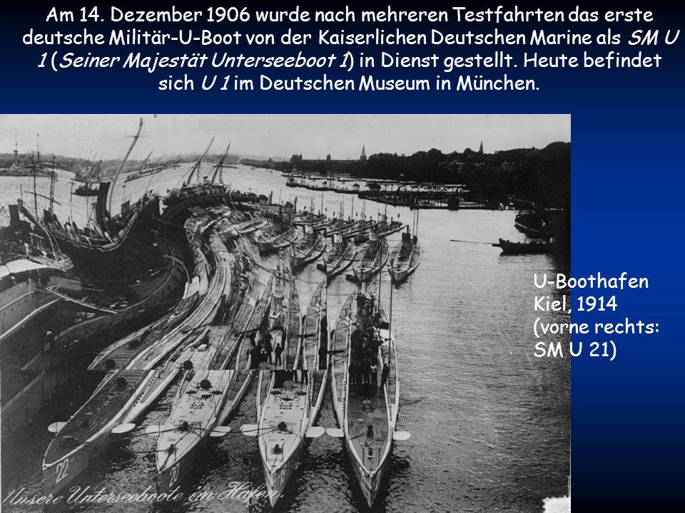 Gegen Ende des 19. Jahrhunderts begannen sich auch internationale Marinen für U-Boote zu interessieren. Die Marineministerien vieler Länder, vornehmli