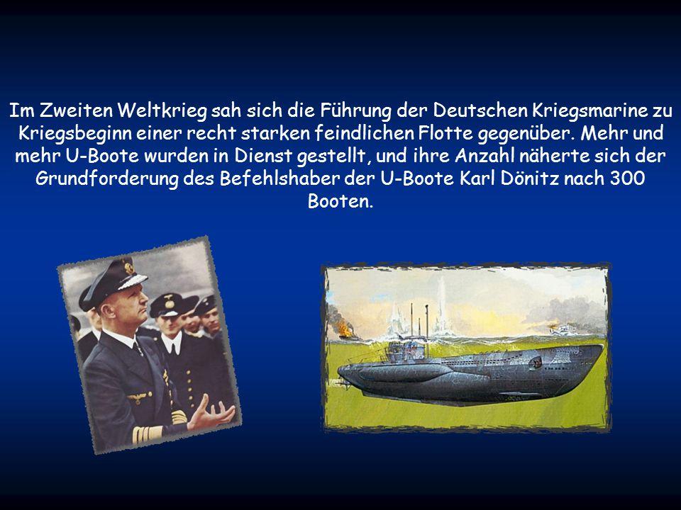 Am 14. Dezember 1906 wurde nach mehreren Testfahrten das erste deutsche Militär-U-Boot von der Kaiserlichen Deutschen Marine als SM U 1 (Seiner Majest