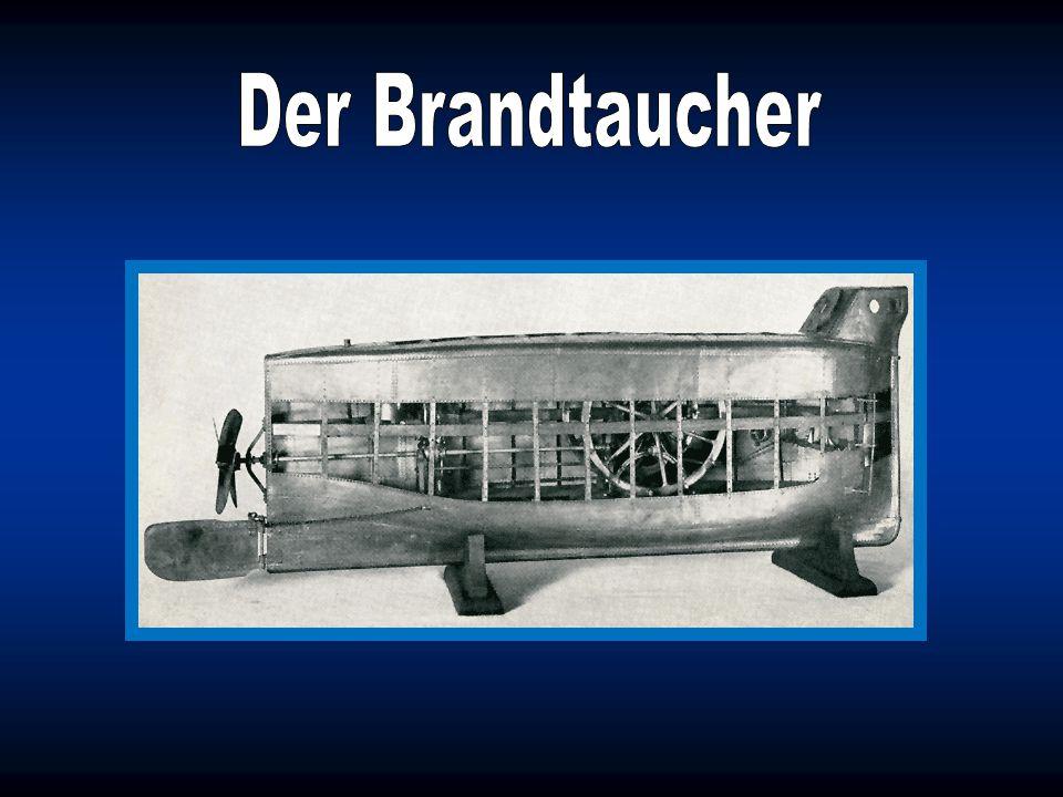 Am 18. Dezember 1850 ließ der bayerische Artillerie- Unteroffizier Wilhelm Bauer in Kiel das erste in Deutschland gebaute U-Boot, den sogenannten Bran