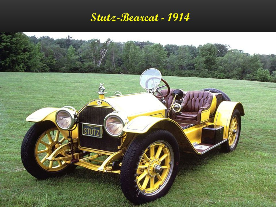 Stutz-Bearcat - 1914