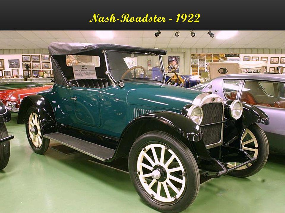 Nash-Roadster - 1922