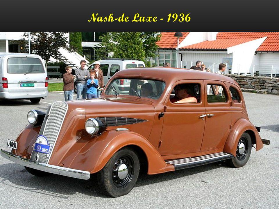 Nash-de Luxe - 1936