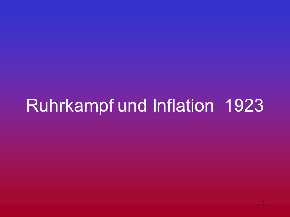 1 Ruhrkampf und Inflation 1923