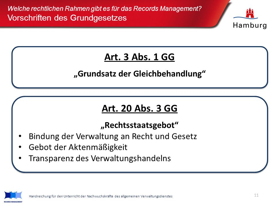 "Art. 3 Abs. 1 GG ""Grundsatz der Gleichbehandlung"" Art. 3 Abs. 1 GG ""Grundsatz der Gleichbehandlung"" Art. 20 Abs. 3 GG ""Rechtsstaatsgebot"" Bindung der"