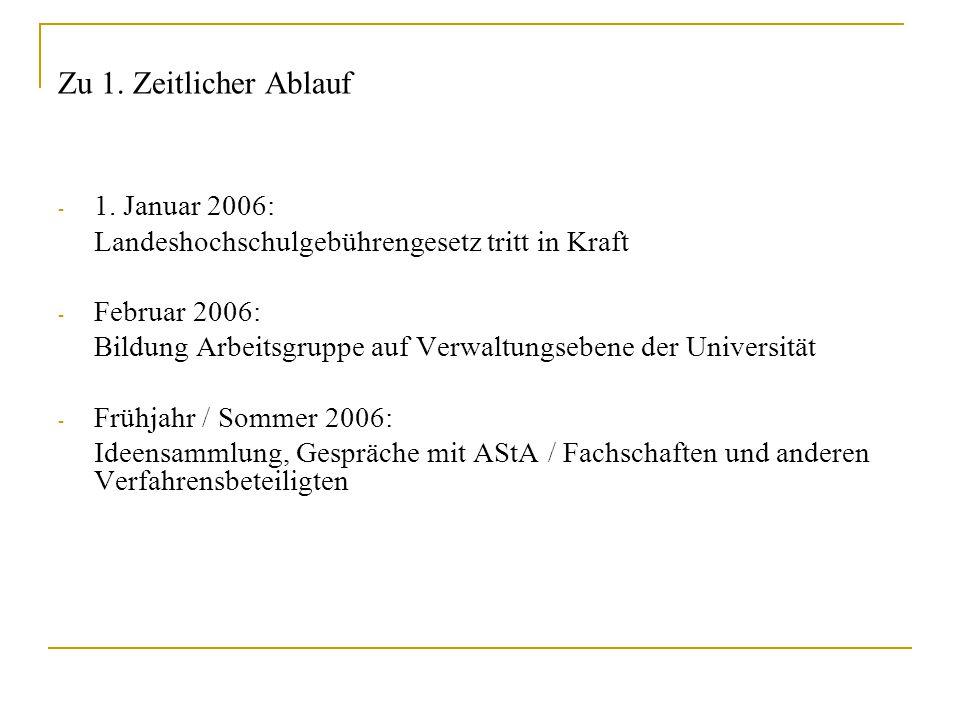 II.Lehrmittelbare Maßnahmen und (studentische) Services II.