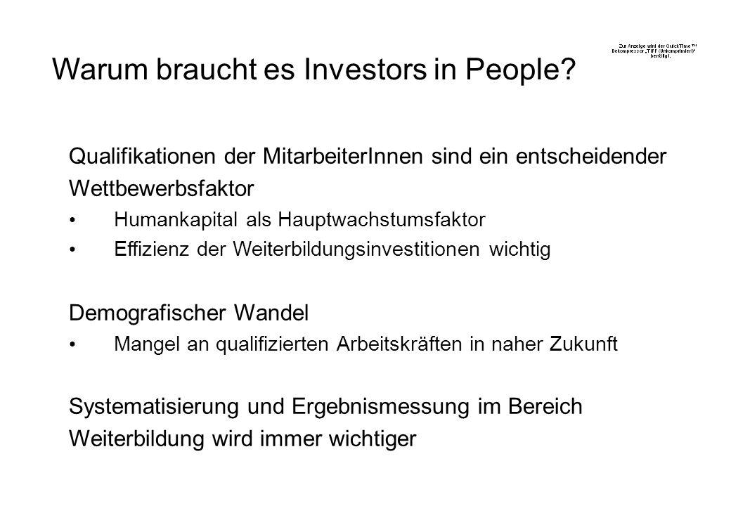 Warum braucht es Investors in People.