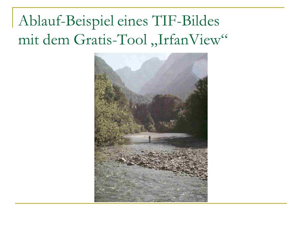 """Ablauf-Beispiel eines TIF-Bildes mit dem Gratis-Tool """"IrfanView"""""""