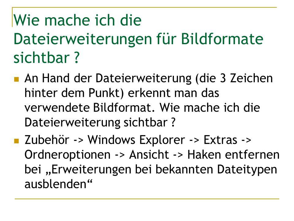 Bildqualität Die digitalen Geräte, d.h.