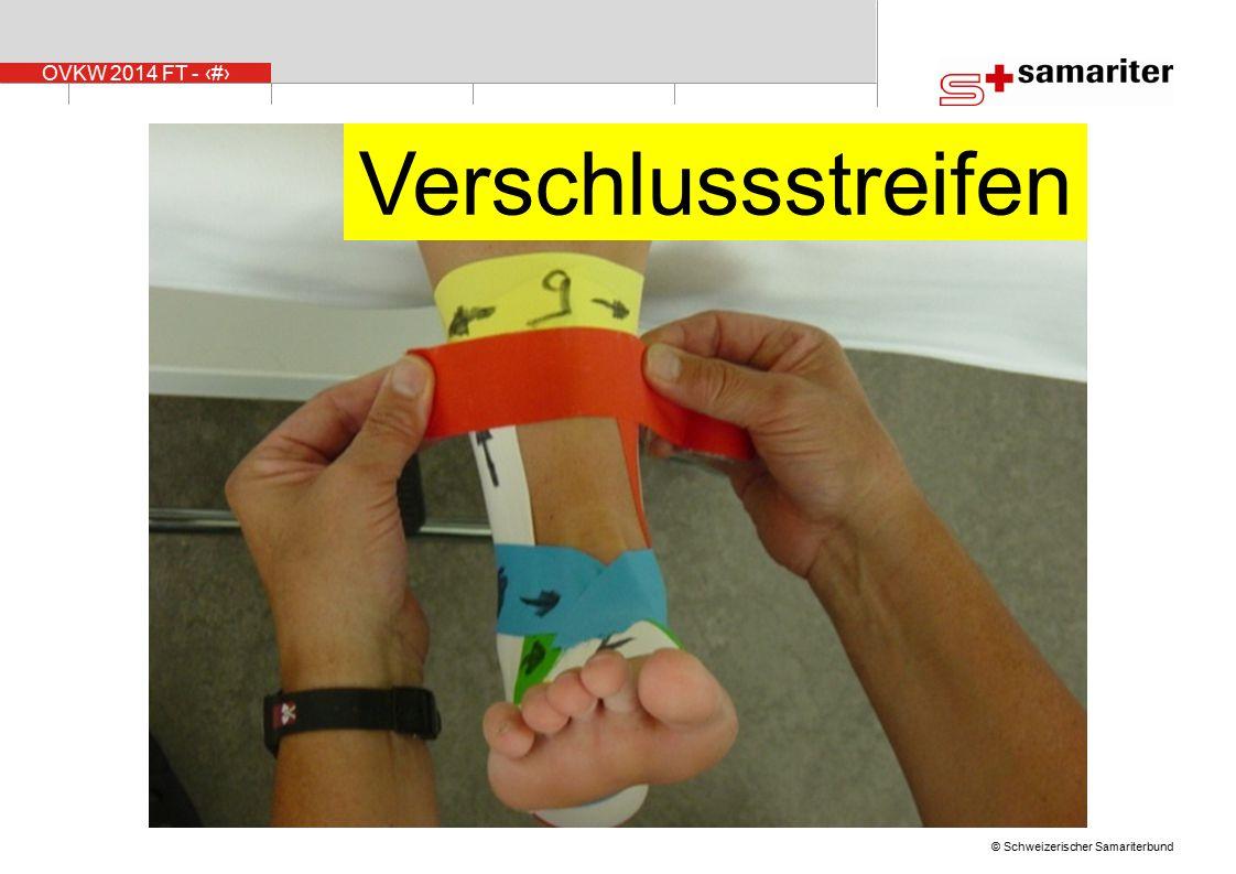 OVKW 2014 FT - 40 © Schweizerischer Samariterbund Verschlussstreifen