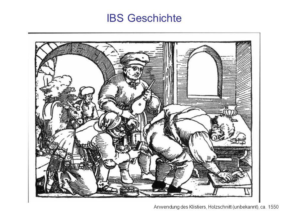 IBS – Differentialdiagnose Kolonkarzinom Chron.