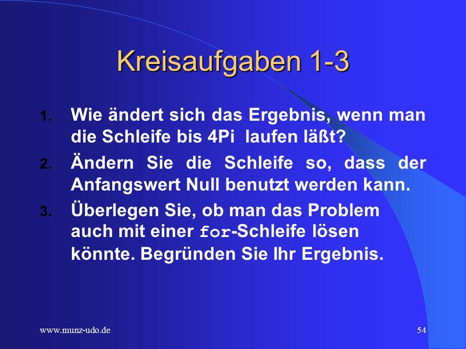 www.munz-udo.de53 Kreis und Spirale