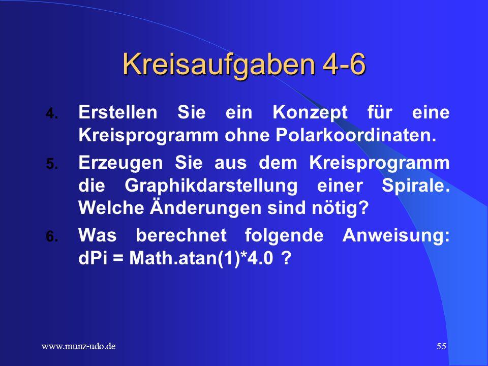 www.munz-udo.de54 Kreisaufgaben 1-3 1.