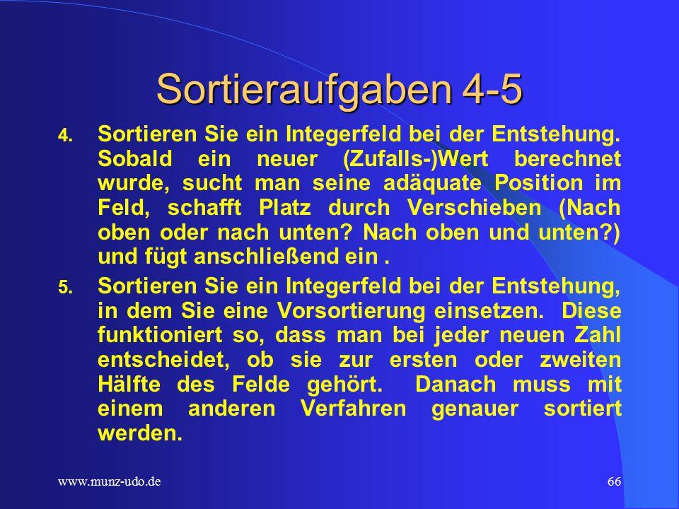www.munz-udo.de65 Sortieraufgaben 1-3 1.