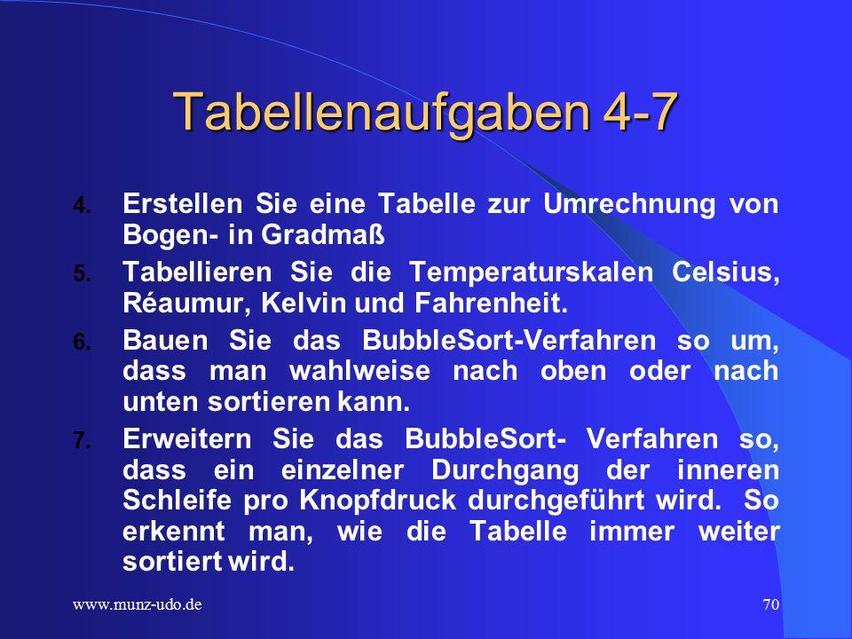 www.munz-udo.de69 Tabellenaufgaben 1-3 1.