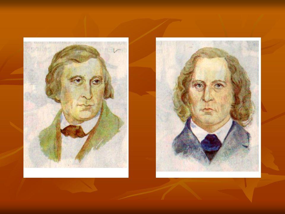 Brüder Grimm-Seite Wissenstoto.In welchem Jahrhundert wurden die Brüder Grimm geboren.