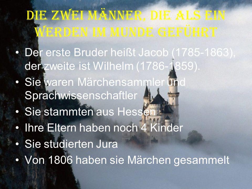 Ihre Arbeiten 1813-1816: Alte deutsche Wälder Liederbücher, Märchenbücher, Legendesammlung Grammatikbücher (Endungen und Wortbildung) Serbische Grammatik