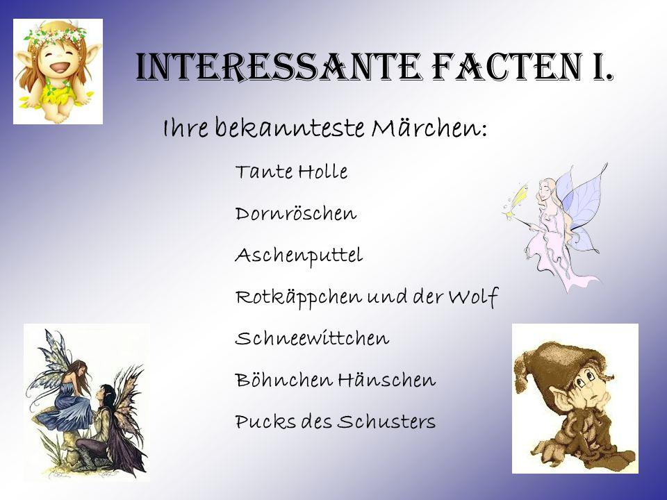 Interessante Facten II.