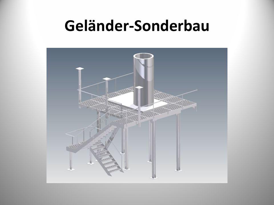 Geländer-Sonderbau