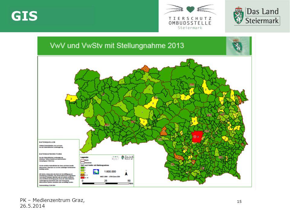 15 GIS PK – Medienzentrum Graz, 26.5.2014
