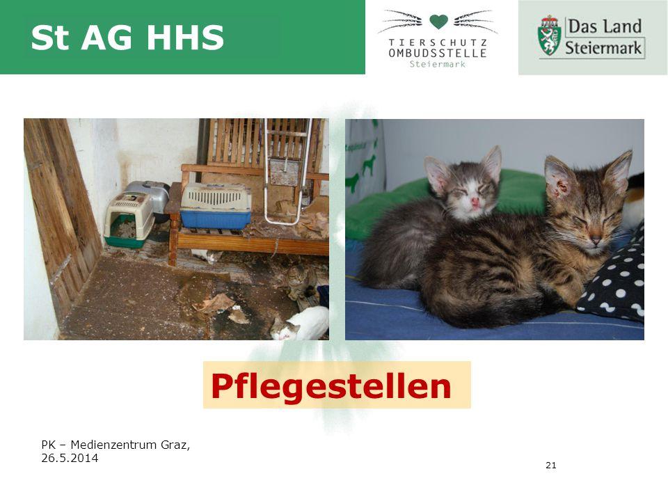 21 St AG HHS PK – Medienzentrum Graz, 26.5.2014 Pflegestellen