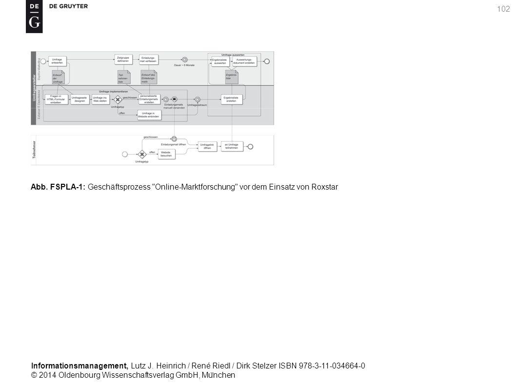 Informationsmanagement, Lutz J. Heinrich / René Riedl / Dirk Stelzer ISBN 978-3-11-034664-0 © 2014 Oldenbourg Wissenschaftsverlag GmbH, Mu ̈ nchen 102