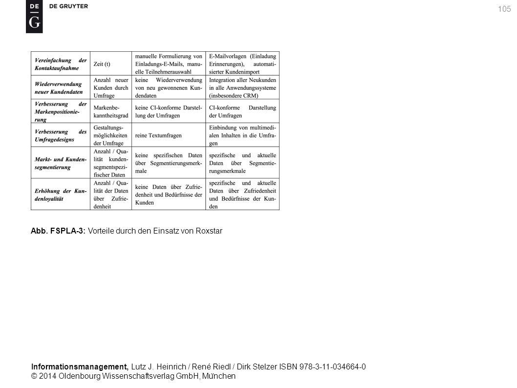 Informationsmanagement, Lutz J. Heinrich / René Riedl / Dirk Stelzer ISBN 978-3-11-034664-0 © 2014 Oldenbourg Wissenschaftsverlag GmbH, Mu ̈ nchen 105
