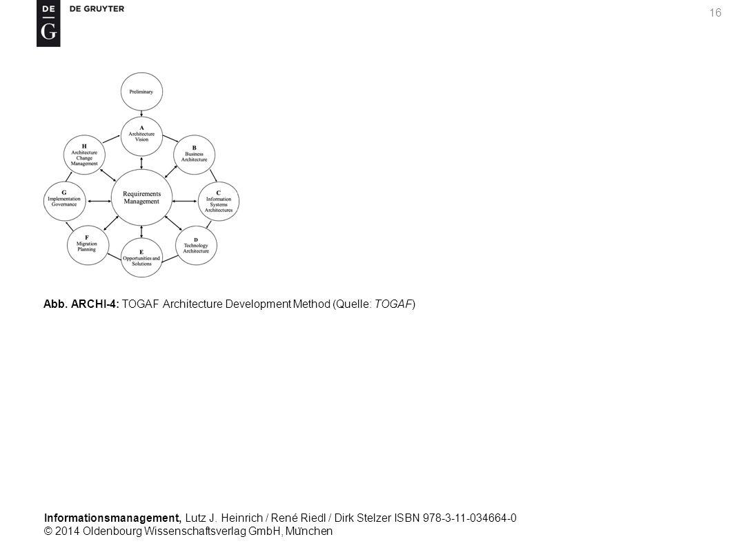 Informationsmanagement, Lutz J. Heinrich / René Riedl / Dirk Stelzer ISBN 978-3-11-034664-0 © 2014 Oldenbourg Wissenschaftsverlag GmbH, Mu ̈ nchen 16