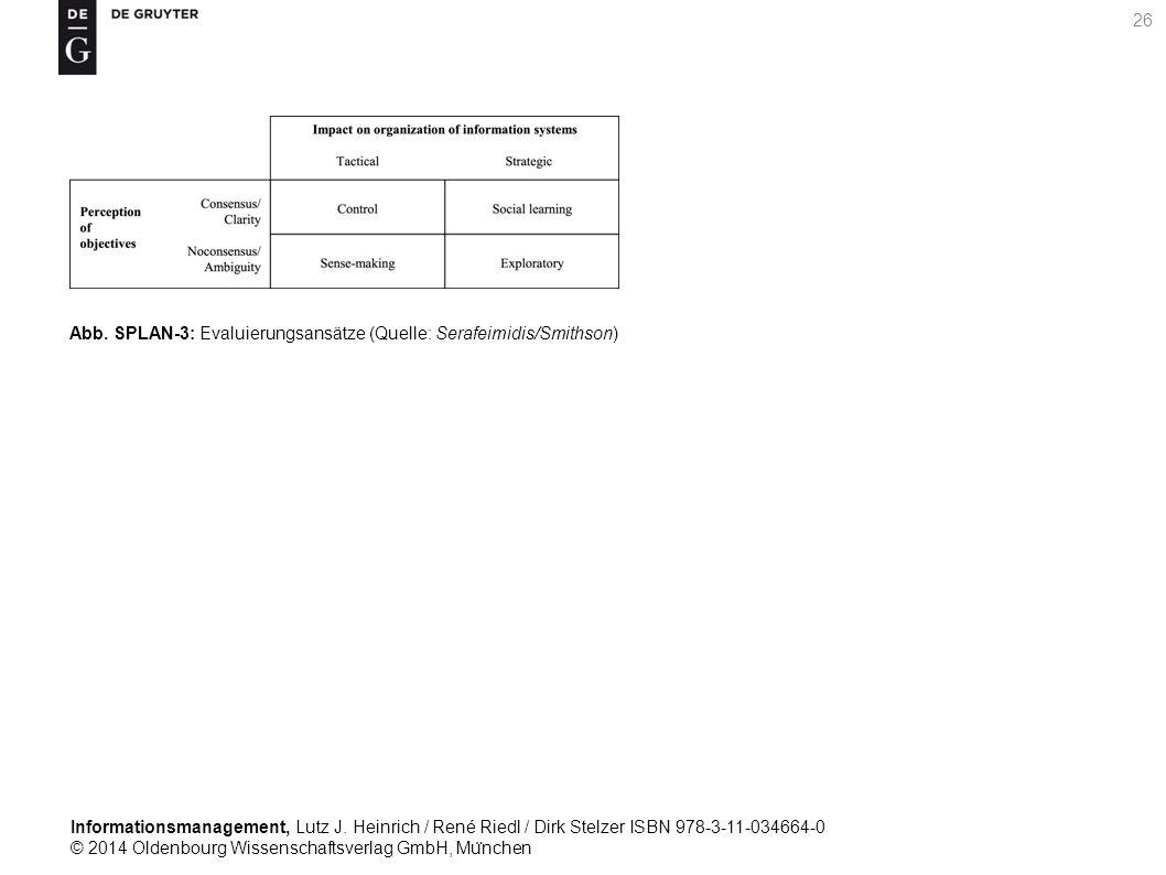 Informationsmanagement, Lutz J. Heinrich / René Riedl / Dirk Stelzer ISBN 978-3-11-034664-0 © 2014 Oldenbourg Wissenschaftsverlag GmbH, Mu ̈ nchen 26
