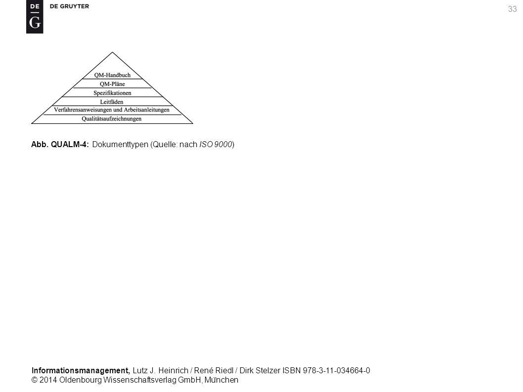 Informationsmanagement, Lutz J. Heinrich / René Riedl / Dirk Stelzer ISBN 978-3-11-034664-0 © 2014 Oldenbourg Wissenschaftsverlag GmbH, Mu ̈ nchen 33