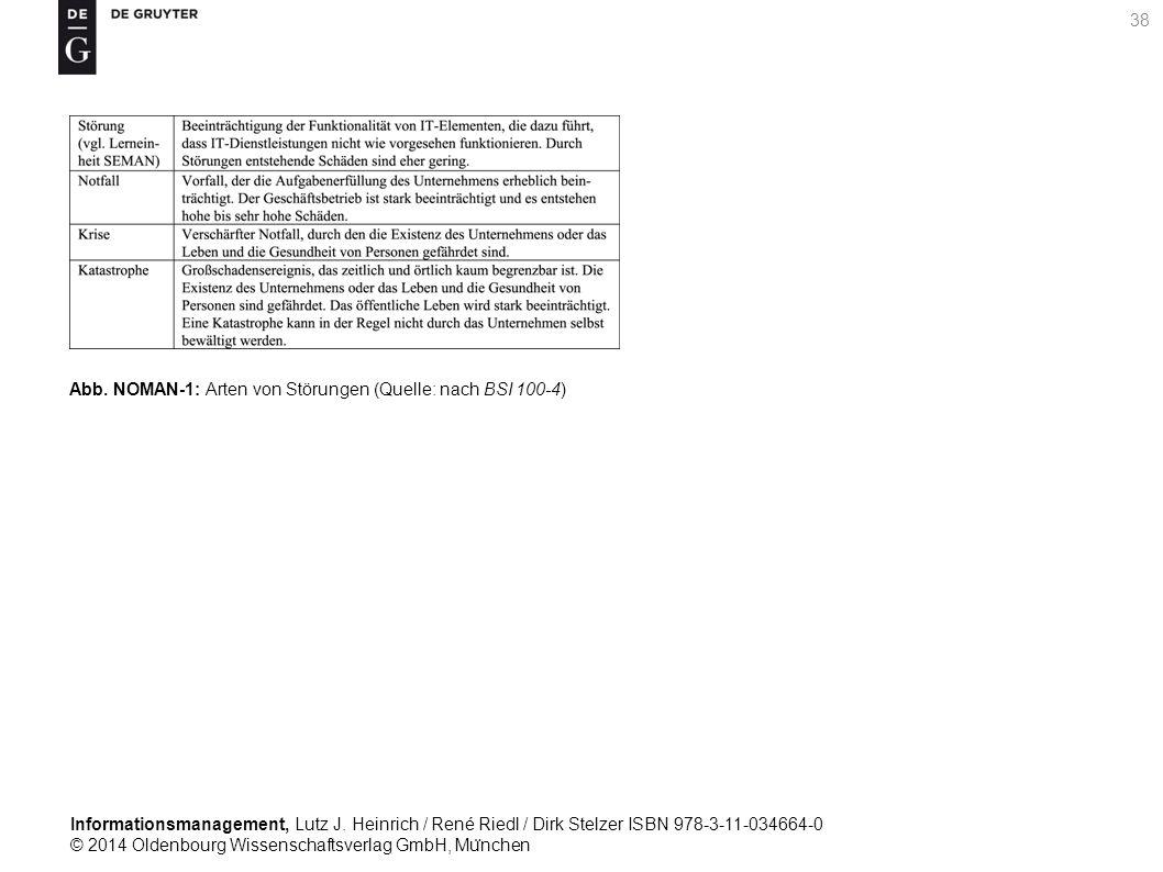 Informationsmanagement, Lutz J. Heinrich / René Riedl / Dirk Stelzer ISBN 978-3-11-034664-0 © 2014 Oldenbourg Wissenschaftsverlag GmbH, Mu ̈ nchen 38